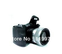 Long Focus 14.1M CMOS Sensor 18.0 Mega Pixel DSLR Digital Camera  DSLR camera with 2X magnifying lens, Russian Language