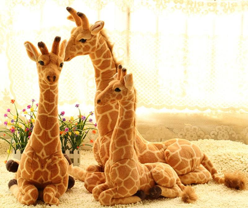 Diy Giraffe Toy Animal Giraffe Plush Toy