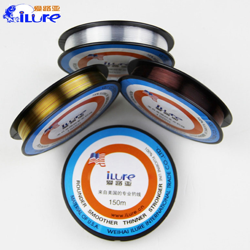 iLure 150m Fluorocarbon Nylon Fishing Line Super Strong Monofilament Nylon Fishing Rope Wire Tackle(China (Mainland))