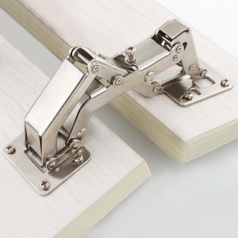 165/170/175/180 Degrees Furniture Cabinet Doors Hinge Special Angle Thick Door Panels No Need Slotting Large Angle Big Hinges(China (Mainland))