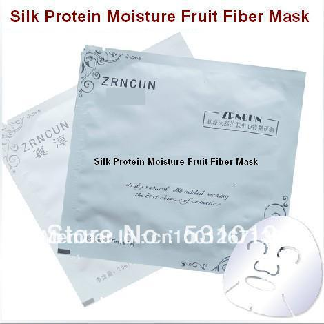 Free Shipping Masks 25g Plant Fruit Fiber Silk Protein Hyaluronic Acid Moisturizing Mask Beauty Products Buy 10 Get 2 for free(China (Mainland))