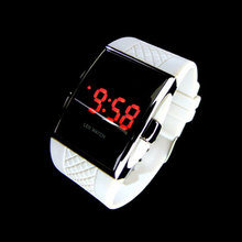 Newest Hot style LED Wrist watch Gifts Kid boys Men Black NVIE