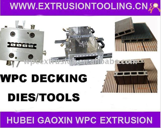 Best Price of WPC Moulds for WPC Decking