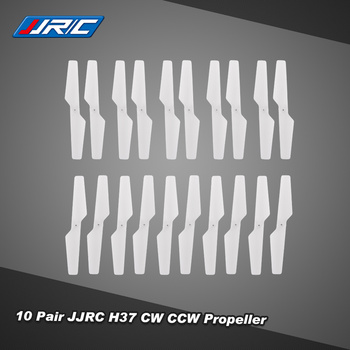 10 Pair Original JJRC H37-02 CW CCW Propeller for JJR/C H37 E50 Selfie Drone RC Quadcopter JJRC Propeller