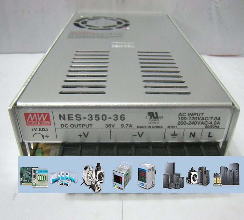MEANWELL Switch Power NES - 350-36 36 v / 9.7 A 2 years giant New to the Original<br><br>Aliexpress