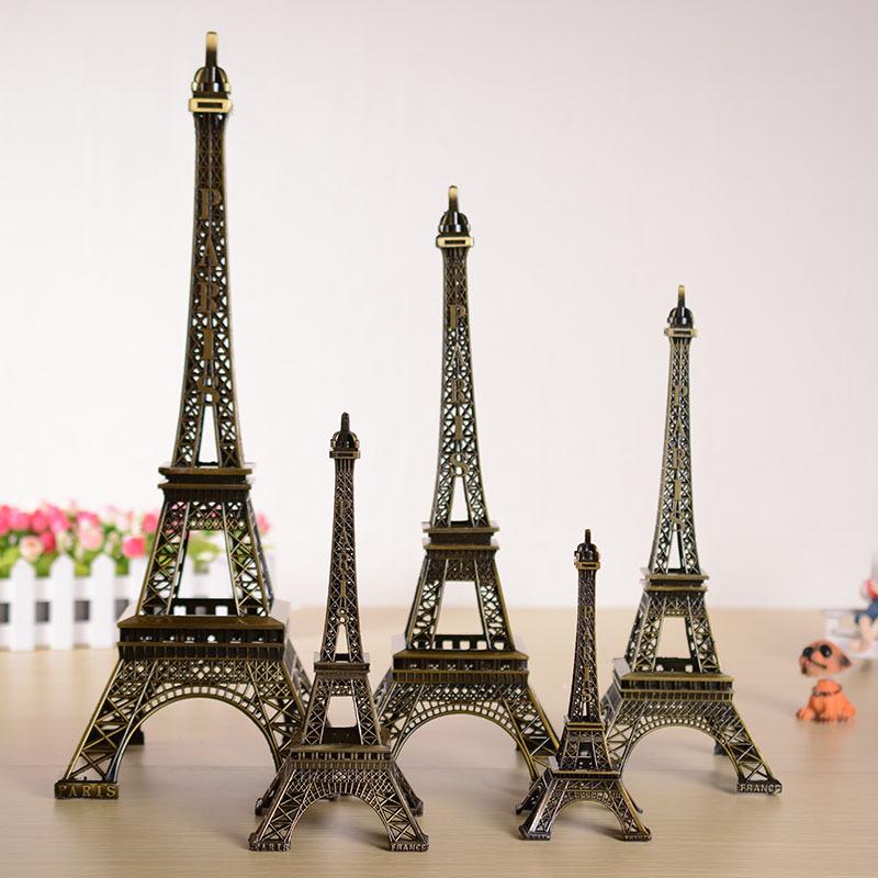 Http Www Aliexpress Com Item Paris Eiffel Tower Bronze Metal Decoration Decoration Model Home Furnishing Wedding Romantic Gift 32620073479 Html
