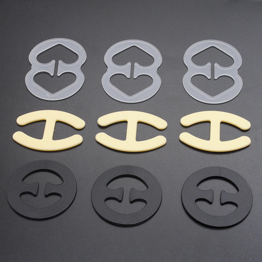 Пряжки для бюстгальтера 9 шт./компл. лямки пряжки Shadow Shaped Пряжка женщин девочек aeProduct.getSubject()