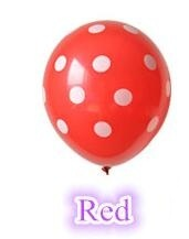 Best Quality Polka Dot Balloons 12Inch 3.2g 50pcs/lot Latex Balloon Celebration Birthday Party Decorative Pet Balloon Toys(China (Mainland))