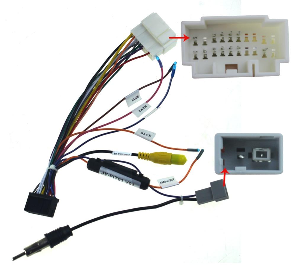 aliexpress com   buy joying wiring iso harness for honda