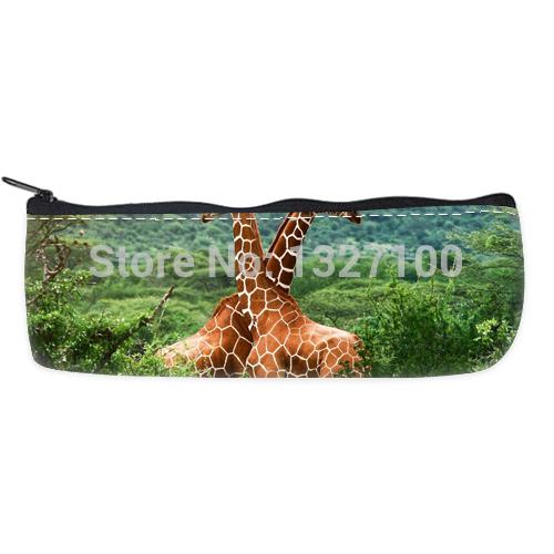 best gift giraffe Custom Pencil Case Bag Comfortable(China (Mainland))