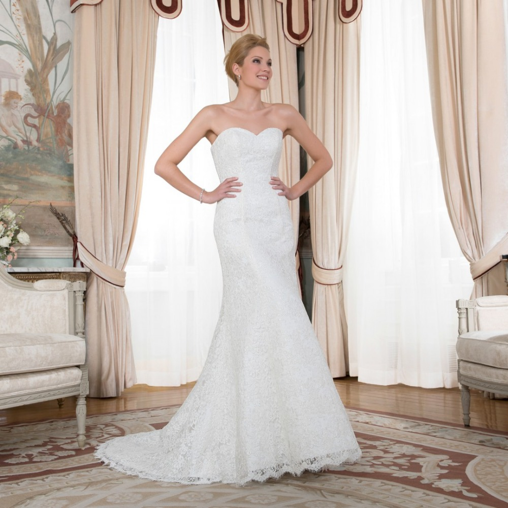 2015 Simple Full Appliques Berydress Sweetheart Ivory