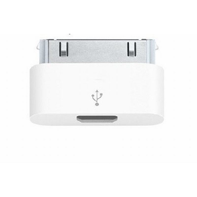 Female Micro USB V8 to 30 pin Dock Connector Male Charger Sync Adapter For iPad For iPhone4/4S/3/3G etc For IOS 8 Free Shipping(China (Mainland))