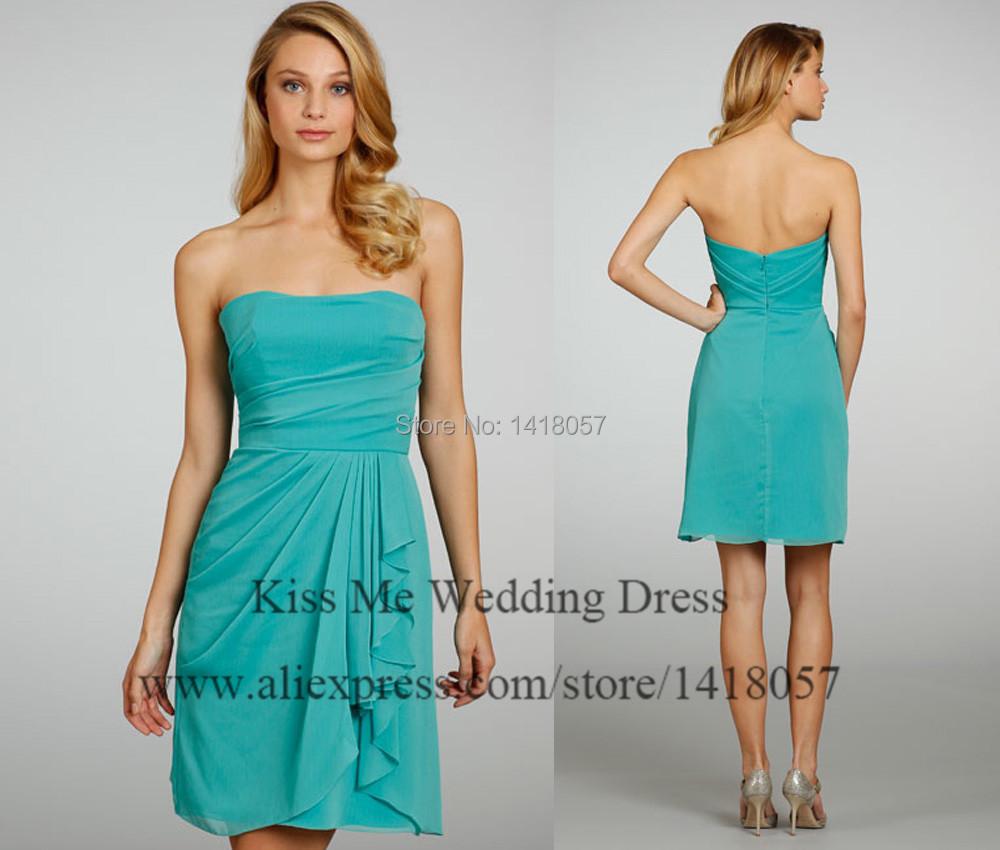 Great blog robe robe d 39 ete bleu turquoise for Robes de demoiselle d honneur turquoise pour mariage sur la plage