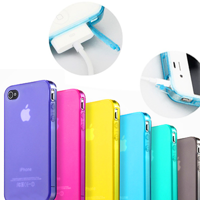 For iphone  4 phone case  for apple   4 phone case set scrub clean water  for iphone   4s mobile phone protective case