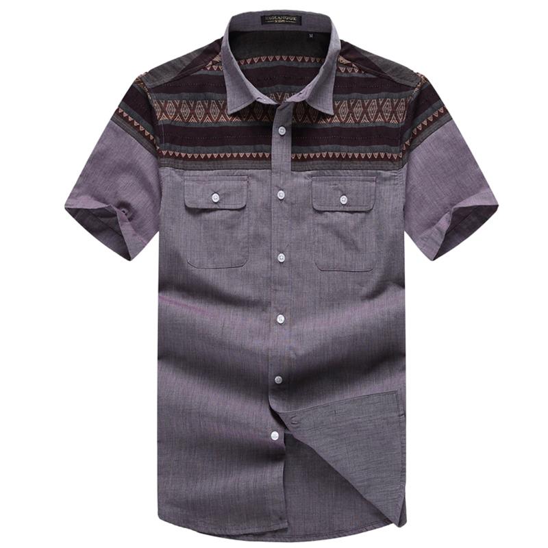Summer Mens Large Shirt 2015 Summers Plus Size  Men Shirts Casual Gift Patchwork Sportief Shirt 3XL-8XL Free Shipping CS807Одежда и ак�е��уары<br><br><br>Aliexpress