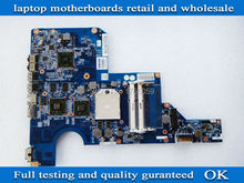 597673-001 for hp g62 motherboard for HP G62 G42 CQ62 notebook motherboard system main board 100% tested working(China (Mainland))