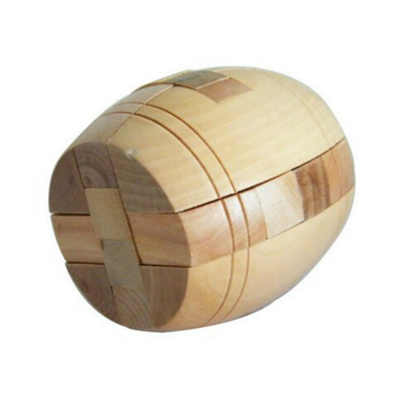 High Quality Adult 3D Wooden Puzzle Brainteaser Beer Barrel Lock Jigsaw Wood Fancy Christmas Gift Toy Children(China (Mainland))