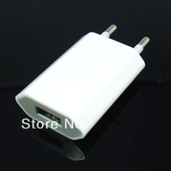 EU Plug USB Power Home Wall Charger Adapter iPod apple iPhone 5 5S 5C 4G 4S 4 3GS,cell phone - ShenZhen HongTai Electronics CO.,LTD store