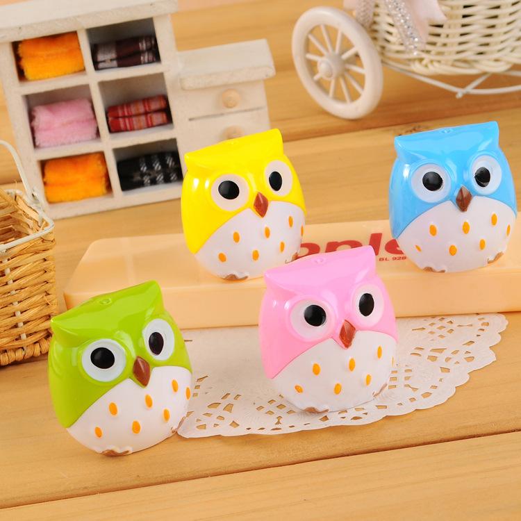 product C100 South Korean stationery creative owl pencil sharpener
