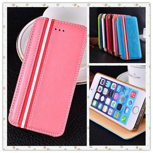 Nuevo estilo europeo lujo moda funda de piel cubierta celular para capa celular for iphone 4 4s - Funda de piel para iphone 5 ...