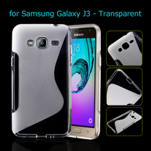 Samsung J 3 (2015 version) Cover S Shape Soft TPU Gel Case Galaxy J3 - Shenzhen TVC-MALL Co., Ltd. store