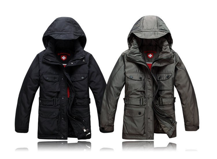!2013 Brand winter WELLENSTEYN German men long section padded jacket coat S-3XL  -  Haining Fashion choice store
