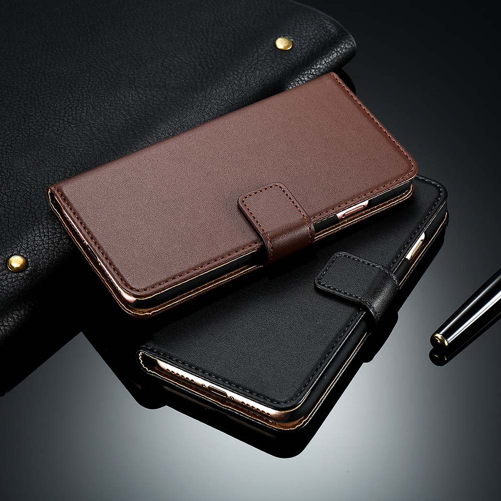 Hot! Luxury Retro Real Genuine Leather Case for Apple