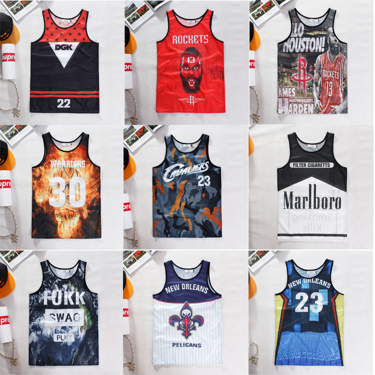 Gasp Sale Print Worsted Golds Gym 2015 Summer Casual Men's Tank Topmen Basketball Top Brand Fitness Sport Men 3d Tops - YK yiku store