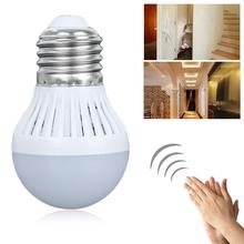 Buy Motion Sensor Light E27 B22 220V LED Lamp 3W Bulb Auto Smart Sound sensor Lamp Motion Sensor Lights for $1.09 in AliExpress store