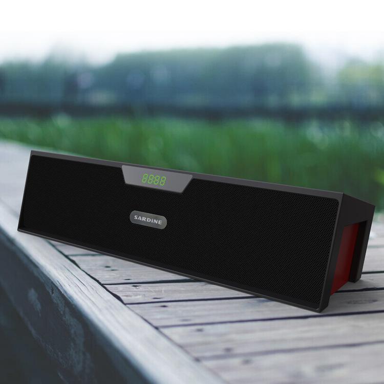 Big power Sardine SDY-019 HIFI Portable Bluetooth Speaker 10w FM Radio wireless USb Amplifier Stereo Sound Box with mic<br><br>Aliexpress