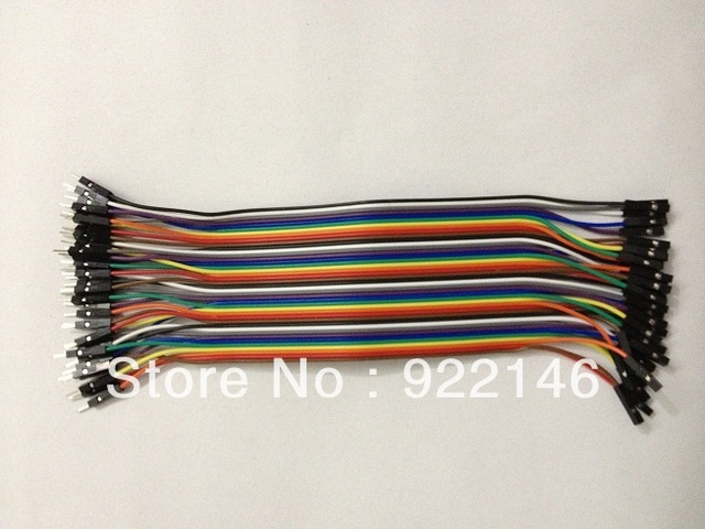 40 Pin 20CM  Premium Male Female Jumper Wires