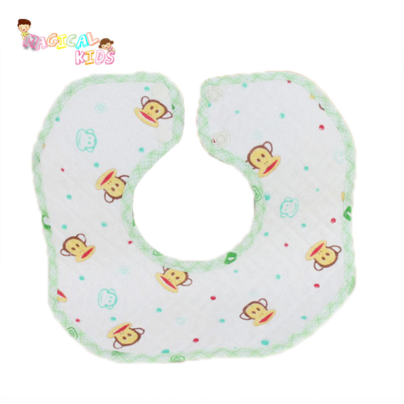 3pcs Children Infant Saliva Towels Baby Bibs Waterproof Cotton Easy Wash Feeding Baberos Clothing Baby Bavoir Bandana(China (Mainland))