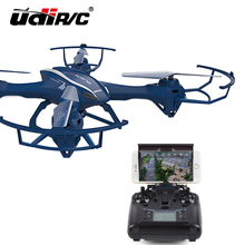 2016 New Arrival Support 3D VR Oversized UDI 818S Wifi-Real-Time Drone With 2.0MP HD Camera Quadcopter Bao Blue Color