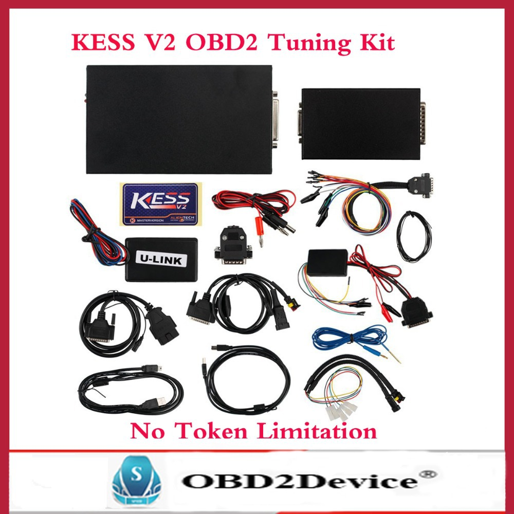 Анализатор двигателя Carluck 2015 KESS V2 OBD2 V2.10 KESS V2 kess v2 v4 036 master version no token limit kess v2 4 036 manager tuning kit ecu programming tool kess v4 036