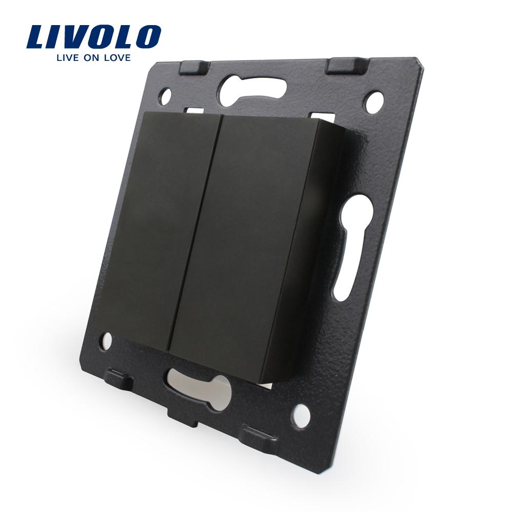 Гаджет  Free Shipping, Livolo White Plastic Materials, EU  Standard, Function Key For  Blank  Socket, VL-C7-K0-12 None Электротехническое оборудование и материалы