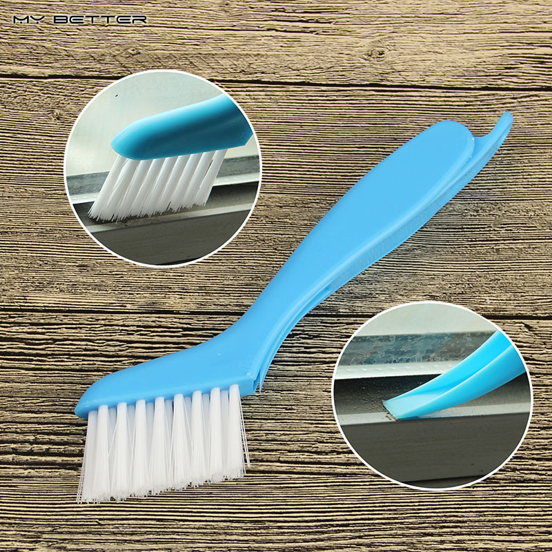 1pcs 2 in1 Multipurpose Window Groove Cleaning Brush Cranny Household Keyboard Home Kitchen Folding Brush Cleaning Tool(China (Mainland))