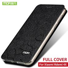 "Buy Xiaomi Redmi 4X Case Cover Flip Leather Case Silicone Soft MOFi Original Xiaomi Redmi 4x Pro Case Hard Fundas 5.0""Capas for $7.96 in AliExpress store"