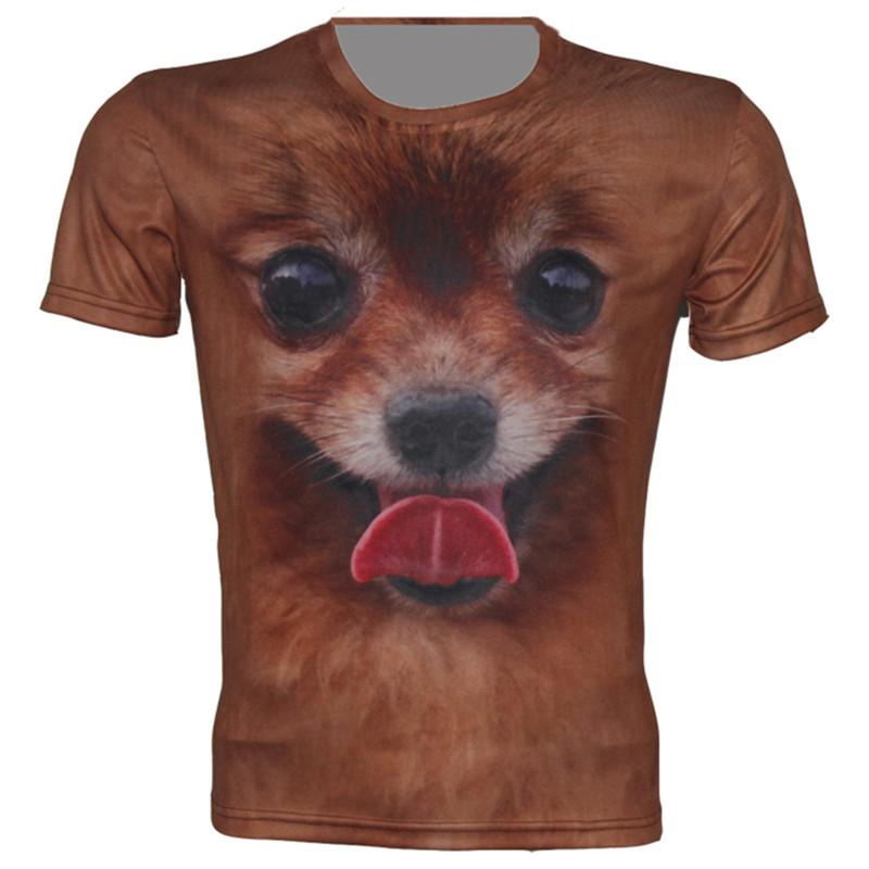animal dog tongue t shirtОдежда и ак�е��уары<br><br><br>Aliexpress