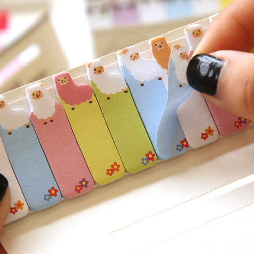 Cartoon Bookmarks (Memo Pad)