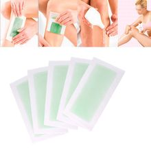 10pcs Women Men Leg Body Hair Remove Depilatory Hot Strips Papers Waxing Nonwoven #57868(China (Mainland))