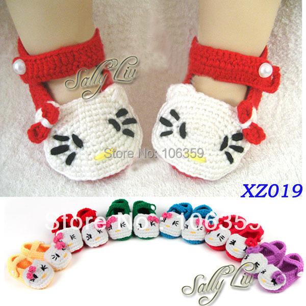 Baby slipper font b booties b font font b crochet b font knit font b