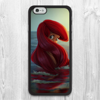 Ariel The Sea Princess Protective Cover case for iphone 4 4s 5 5s 5c 6 6s plus samsung galaxy S3 S4 mini S5 S6 Note 2 3 4 z0195