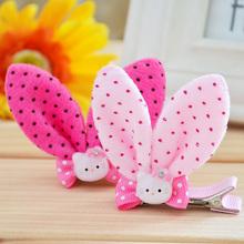 Kawaii Children Girl's Hello Kitty Rabbit Round Dot Headbands,Hair Headwear(China (Mainland))