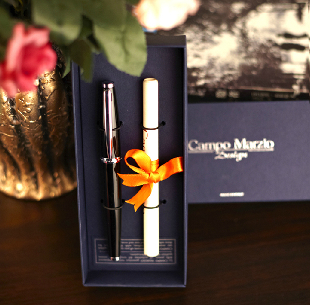 Campo marzio design quality pen unisex pen gift box business gift set