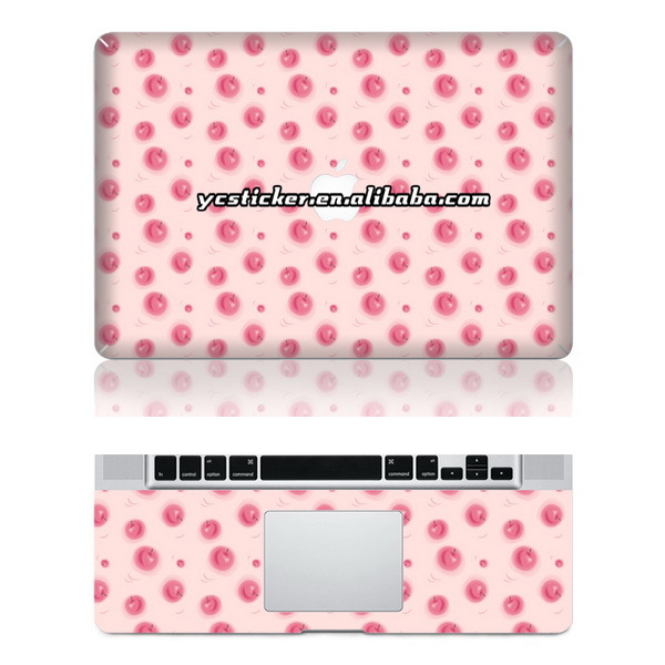 Free Shipping for MacBook PVC Skin PVC Wrist Skin for MacBook Protecter(China (Mainland))
