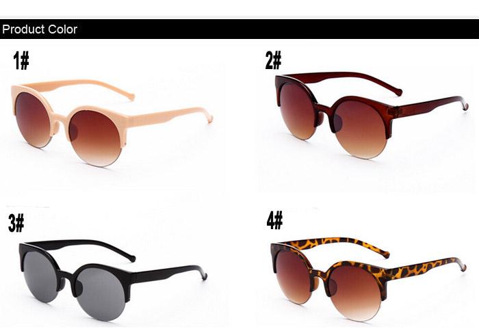 Round Sunglasses For Men Women Sun Glasses Eyewear Eyeglasses 2015