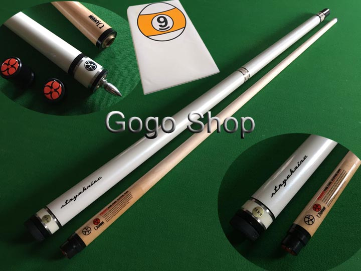 """2016 New 11.5MM Pool Cue Stick Nine-ball Ball Arm 58"""" inch Quick Release Stainless Steel Joint Pool Cue Billiard Cue 9 Ball Cue(China (Mainland))"""