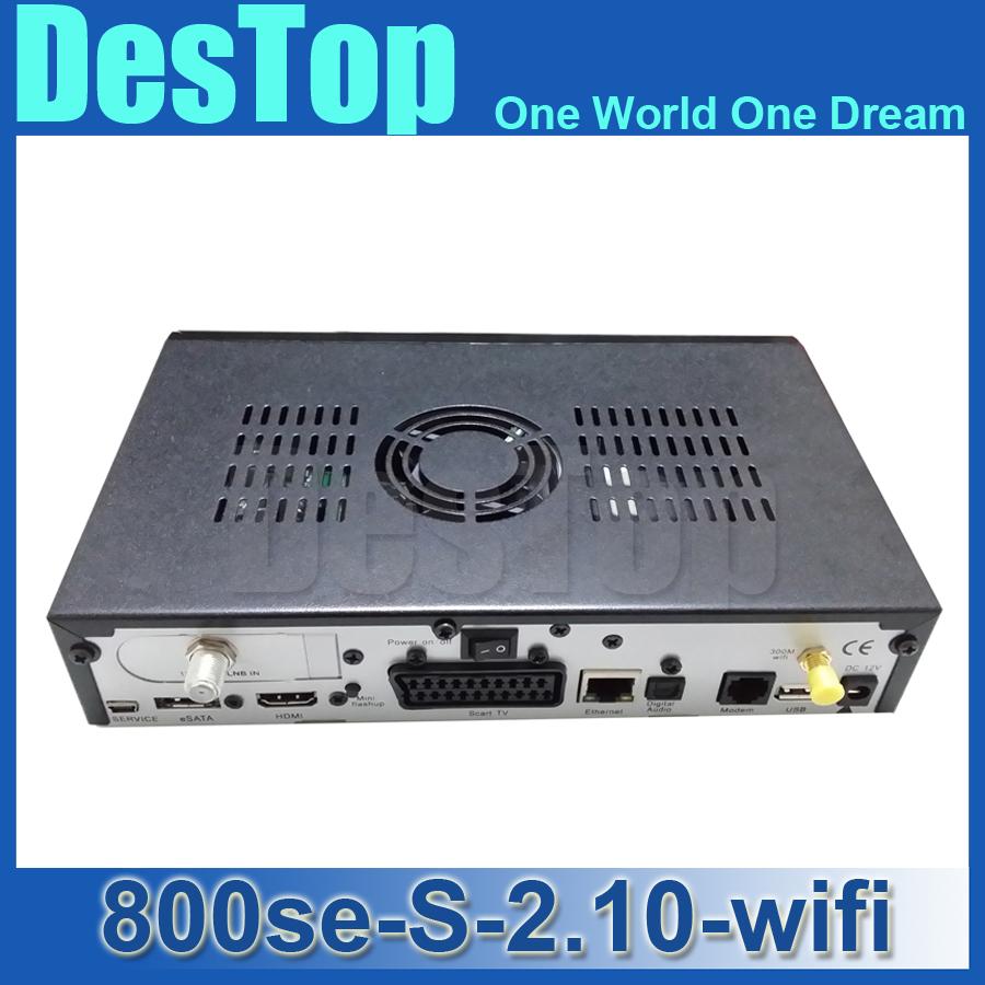 DM800 se HD Satellite Receiver DM800se Wifi S tuner Dm800se WIFI sim2.10 card DM800 hd 800se Wifi BCM4505 Tuner 400Mhz Processor(China (Mainland))