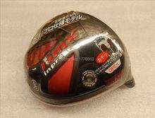 Ya ma ha RMX inpress Titanium golf driver head tour model only have 10 deg loft choose(China (Mainland))