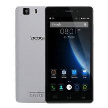 Original 5Inch Doogee X5 Mobile Phone Quad Core Android 5.1 Cellphone 1GB RAM 8GB ROM 2+5MP Camera MTK6580 Brand Smartphone(China (Mainland))